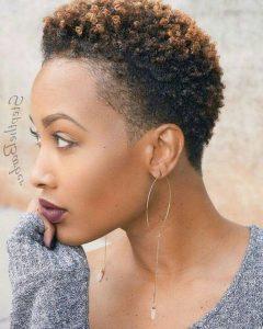 Short Hairstyles For Natural Black Hair