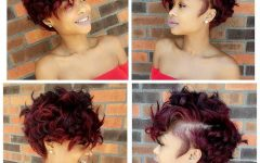 Messy Curly Pixie Hairstyles
