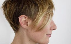 Tousled Coral Crop Shag Haircuts