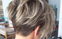 Feathered Pixie with Balayage Highlights