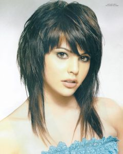 Shaggy Hairstyles For Coarse Hair