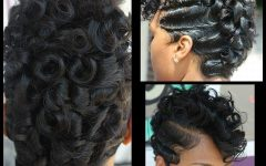 Retro Curls Mohawk Hairstyles