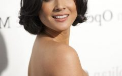 Olivia Munn Bob Hairstyles
