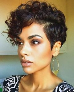 Pixie Haircuts With Curly Hair