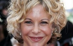 Medium Haircuts for Older Women with Curly Hair
