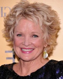 Short Haircuts For Older Women With Curly Hair