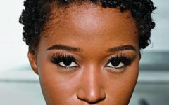 Natural Short Hairstyles for Round Faces