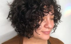 Cute Short Curly Bob Hairstyles