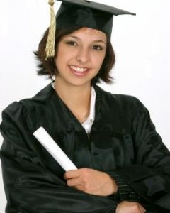 Graduation Cap Hairstyles For Short Hair