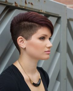 Shaved Sides Pixie Hairstyles