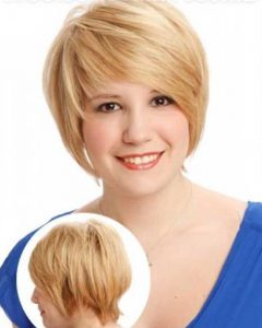 Short Hairstyles For Chubby Cheeks