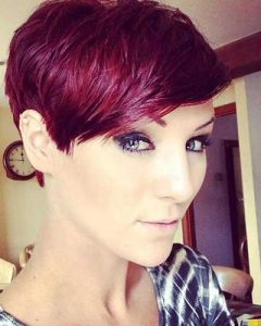 Red Pixie Haircuts