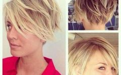 Long Shaggy Pixie Haircuts