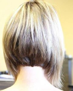 Inverted Bob Haircut Back View