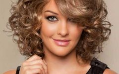 Medium Length Curly Bob Hairstyles