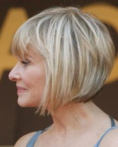Short Bob Hairstyles For Old Women
