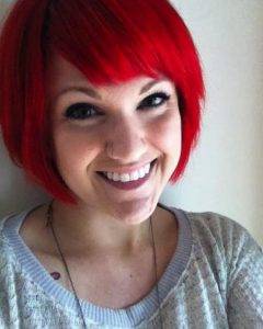 Bright Red Short Hairstyles