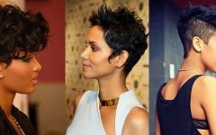 Short Haircuts for African American Women with Round Faces