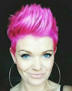 Pink Pixie Haircuts