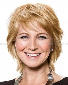 Short Layered Hairstyles For Fine Hair Over 50