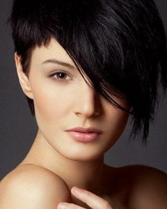 Related About One Side Shaved Short Hairstyles