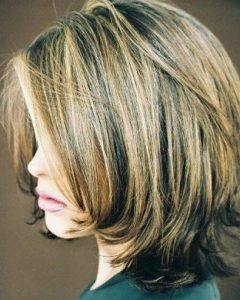 2018 latest short layered bob hairstyles with bangs