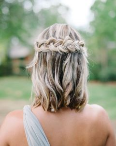 Wedding Hairstyles For Bridesmaids With Short Hair