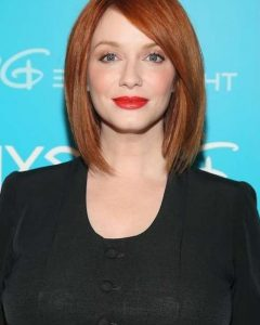 Christina Hendricks Bob Hairstyles