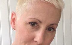 Platinum Fauxhawk Haircuts