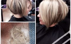 Two-tone Stacked Pixie Bob Haircuts