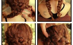 Quick Easy Updo Hairstyles for Thick Hair
