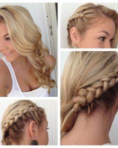 Side Dutch Braid Hairstyles