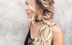 Wavy Side Fishtail Hairstyles