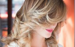 Side-swept Face-framing Layers Hairstyles