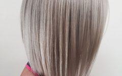Wispy Silver Bob Hairstyles