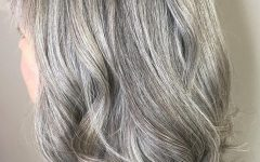Gray Hair Medium Hairstyles