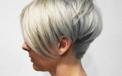 Layered Pixie Hairstyles with Nape Undercut