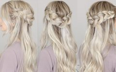 Chunky Crown Braided Hairstyles