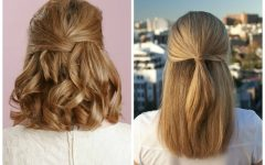 Half Updo Hairstyles for Medium Hair