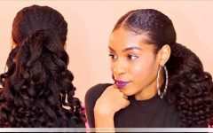 Sleek and Chic Ringlet Ponytail Hairstyles
