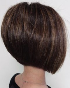 Sleek Rounded Inverted Bob Hairstyles