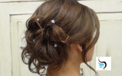 Tied Up Wedding Hairstyles for Long Hair