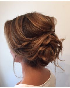 Low Updo Wedding Hairstyles