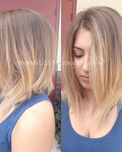 Cute A-Line Bob Hairstyles With Volume Towards The Ends