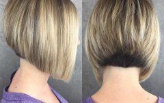 Balayage for Short Stacked Bob Hairstyles