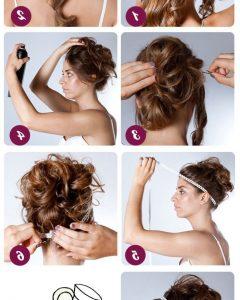 Athenian Goddess Faux Hawk Updo Hairstyles