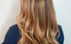 Strawberry Blonde Balayage Hairstyles
