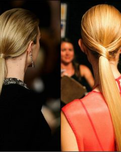 Strict Ponytail Hairstyles