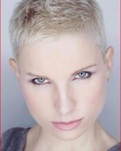 Tousled Pixie Hairstyles with Super Short Undercut