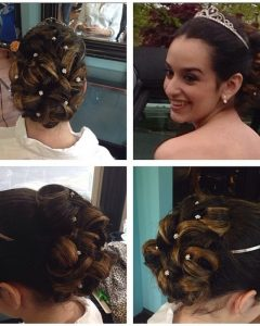 Updo Hairstyles For Sweet 16